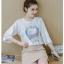 **สินค้าหมด Set_bs1558 ชุด 2 ชิ้น(เสื้อ+กระโปรง) เสื้อแขนกระดิ่งทรงฟรีไซส์สีพื้นขาวสกรีนลายผ้าเนื้อดีหนาสวย กระโปรงซิปข้างกระเป๋าข้างผ้าหนาเนื้อดีสีพื้นน้ำตาลนู้ด งานน่ารักผ้าสวยเกินราคา แมทช์กันได้อย่างลงตัว ใส่เก๋ๆ ได้บ่อยไม่มีเบื่อ thumbnail 7
