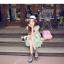 เสื้อตัวยาว/ mini dress สุดน่ารัก ผ้าฝ้ายปักลายหวานๆ พร้อมส่ง thumbnail 15