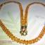 (ขายแล้วค่ะ) M013 สร้อยคอ คริสตัลโมดาร์ เม็ดใหญ่ (สีเหลือง) thumbnail 1