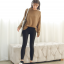 Sweater เสื้อสเวทเตอร์แขนยาว สีน้ำตาล ทรงสวย จะใส่เดี่ยวไหรือใส่โค้ทคลุมก็เริ่ด thumbnail 6