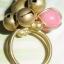 (ขายแล้วค่ะ) C012 แหวนทองเหลือง หัวใจ&ฮกลกซิ่ว thumbnail 3
