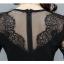 **สินค้าหมด Dress4002 ชุดเดรสยาวทรงเข้ารูปสวยสีพื้นดำ แต่งลูกไม้ช่วงอก, แขน และชายกระโปรง ผ้าเนื้อดีมีน้ำหนักทิ้งตัวยืดขยายได้ งานสวยดูหรูดูแพง แบบสวยไม่ซ้ำใคร ผ้าสวยเกินราคา ใส่ออกงานได้เลยจ้า thumbnail 9