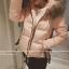 เสื้อโค้ทกันหนาว ประดับเฟอร์ที่ฮู้ด ผ้าร่มเนื้อดีกันลม แต่งรูดชายเสื้อ กระดุม+ซิปหน้า เกาหลีมากๆ พร้อมส่งเลยจ้า thumbnail 16