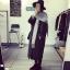 เสื้อโค้ทกันหนาว สไตล์เกาหลี ตัวโคล่ง สีดำ ผ้าสำลีเนื้อไม่หนามาก บุซับในกันลม ใครชอบแนวๆ แนะนำตัวนี้เลยจ้า thumbnail 10