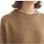 Sweater เสื้อสเวทเตอร์แขนยาว สีน้ำตาล ทรงสวย จะใส่เดี่ยวไหรือใส่โค้ทคลุมก็เริ่ด thumbnail 11