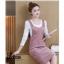 **สินค้าหมด Dress3865-Pink ชุดเอี๊ยมกระโปรงยาวผ้ายีนส์ลูกฟูกเนื้อดีมาก สายปรับความยาวได้ มีกระเป๋าหน้า/ข้างและหลัง ผ่าชายกระโปรงด้านหลังเล็กน้อยเพื่อความคล่องตัว งานดีทรงสวยใส่แล้วน่ารักสุดๆ (ไม่รวมเสื้อตัวใน) สีพื้นชมพู thumbnail 9