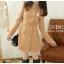 LADY COAT เสื้อโค้ทกันหนาว ทรงหวานๆ สไตล์เกาหลี พร้อมส่ง thumbnail 9