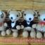 หมีคู่แต่งงาน 10 นิ้ว แบบนั่ง thumbnail 7