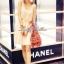 พร้อมส่ง - Lady Twinkle Glam Mini dress มินิเดรสแต่งเลื่อมและลูกปัดสีครีม thumbnail 3