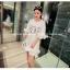 เสื้อตัวยาว/ mini dress สุดน่ารัก ผ้า cotton เนื้อนุ่มแต่งระบายหวานๆ thumbnail 11