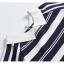 Blouse3679 เสื้อไหมพรมเนื้อนุ่มลายริ้วสลับสีขาว คอปก มีกระดุมคอหลังใส่ง่าย งานถักเนื้อแน่นสวยผ้านุ่มใส่สบายยืดขยายได้เยอะ งานสวยแมทช์ง่าย งานดีใส่สวยใส่สบาย มี 2 สี เหลือง, กรม thumbnail 9