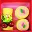เค้กโรลผ้าขนหนู เซอร์ไพร์สวันพิเศษ (วันเกิด,วันวาเลนไทน์,วันแห่งความรัก) สีเหลือง thumbnail 1