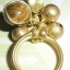 (ขายแล้วค่ะ) C013 แหวนทองเหลือง ลายก้นหอย ประดับหินไทเกอร์ thumbnail 4