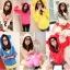 เสื้อกันหนาวฮู้ดดี้ แฟชั่นเกาหลี หูหมี น่ารัก ราคาโดนๆ เลือกสีที่ชอบด้านในเลยจ้า thumbnail 1