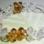 (ขายแล้วค่ะ) L03 สร้อยข้อมือถักรูปดอกไม้ (สีเหลือง)คริสตัลโมดาร์ thumbnail 2