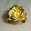 C006 แหวนรูปดอกไม้ ทองเหลือง100% thumbnail 1