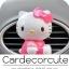 ( ลด 10 % ) HELLO KITTY - น้ำหอมปรับอากาศติดแอร์รถยนต์ (3 สี) thumbnail 1
