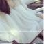 เสื้อแฟชั่น ทรงน่ารัก ซีทรู ผ้าชีฟองเบาโปร่ง สีขาว แถมเกาะอกพร้อมส่ง thumbnail 10