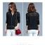 Blouse3622 เสื้อคลุมแจ็กเก็ตแขนยาวผ้าลูกไม้คอตตอนสีพื้นดำ ซิปหน้า งานน่ารัก มิกซ์แอนด์แมทช์กับชุดไหนก็ดูดีจ้า ใส่เก๋ๆ ได้บ่อย thumbnail 8