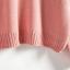 Sweater เสื้อสเวทเตอร์แขนยาว สีชมพู ทรงสวย จะใส่เดี่ยวไหรือใส่โค้ทคลุมก็เริ่ด thumbnail 4