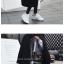 เสื้อโค้ทกันหนาว สไตล์เกาหลี ตัวโคล่ง สีดำ ผ้าสำลีผสมสักกะหลาด ไม่หนามาก ทรงสวย บุซับในกันลม พร้อมส่งจ้า thumbnail 2