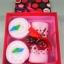 เค้กโรลผ้าขนหนู เซอร์ไพร์สวันพิเศษ (วันเกิด,วันวาเลนไทน์,วันแห่งความรัก) สีชมพู thumbnail 2