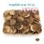 กระดุมไม้สัก กลม ขนาด 30 มม. (100p) thumbnail 1