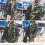 แจ็คเก็ตตัวโคล่ง ลายทหาร สไตล์เกาหลี ผ้าแบบเสื้อทหารเลยจ้า พร้อมส่งจ้า thumbnail 8