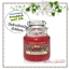 Yankee Candle / Small Jar Candle 3.7 oz. (Red Apple Wreath) thumbnail 1