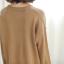 Sweater เสื้อสเวทเตอร์แขนยาว สีน้ำตาล ทรงสวย จะใส่เดี่ยวไหรือใส่โค้ทคลุมก็เริ่ด thumbnail 13