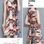**สินค้าหมด Dress4045 ชุดเดรสทรงสวยลายใบไม้ ซิปหลังใส่ง่าย ผ้าโพลีเนื้อดีนุ่มใส่สบาย งานสวยใส่ง่ายน่ารักมาก thumbnail 12