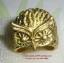 C002 แหวนรูปนกฮูก ทองเหลือง 100% thumbnail 1