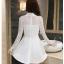 Dress3769 ชุดเดรสลูกไม้แขนยาวสีขาวงานเกรดพรีเมียม อกซีทรู คอแต่งลูกไม้ฉลุ มีซับในอย่างดีทั้งชุด ซิปหลัง งานผ้าลูกไม้อัดผ้ากาวเนื้อหนาสวยอยู่ทรง งานสวยหรูดูแพงสุดๆ แนะนำเลยจ้า thumbnail 28