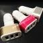 หัว ชาร์จในรถ+USB Car Charger เพิ่มช่องชาร์จ 3 ช่อง (ชาร์จได้ทุกรุ่นคะ) ไฟแรงคะ thumbnail 1