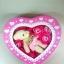กล่องหัวใจวาเลนไทน์ หมี+ดอกกุหลาบ18ดอก(มีกลิ่นหอม) thumbnail 2
