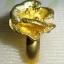 C006 แหวนรูปดอกไม้ ทองเหลือง100% thumbnail 2
