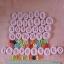 แม่พิม A-Z และตัวเลข แม่พิมซิลิโคน 36ชิ้น ขนาด1.5cm thumbnail 1