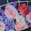 NEW เดรสผ้าชีฟอง แต่งกั้กลายดอกไม้ผ้าอิตาลี่ลายตาราง (ซับในไฮเกรดทั้งชุด) thumbnail 4