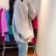 Sweater เสื้อไหมพรมถัก มีประกายวิ้งๆ ในตัว สีเทา ใส่ตัวเดี๋ยวได้เลยเก๋ๆ ยืดได้เยอะ น่ารักมากจ้าา thumbnail 2
