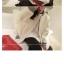 เสื้อกันหนาว ผ้าสำลีสีขาวเนื้อนุ่ม บุซับใน จั๊มแขนไหมพรม พร้อมส่ง thumbnail 11