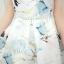 **สินค้าหมด Dress3949 เดรส+เข็มขัด ชุดเดรสทรงสวย มีซิปหลังใส่ง่าย ช่วงเอวเข้ารูป พร้อมเข็มขัดเข้าชุดอย่างดี มีซับในทั้งชุด ผ้าซาตินซิลค์เนื้อดีหนาสวยลายดอกไม้โทนสีฟ้าขาว งานน่ารักทรงสวยเรียบหรู ใส่เมื่อไหร่ก็สวย ได้ไปถูกใจแน่นอนจ้า thumbnail 13
