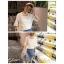 เสื้อแฟชั่น สีขาว แต่งคอ สไตล์เกาหลีใส่ออกมาแล้วแนวมากจ้า พร้อมส่งน้า thumbnail 10