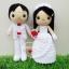 """ตุ๊กตาถัก คนแต่งงาน 9"""" (3) thumbnail 1"""