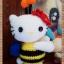 คิตตี้ชุดผึ้งน้อย 6 นิ้ว thumbnail 3