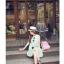 เสื้อตัวยาว/ mini dress สุดน่ารัก ผ้าฝ้ายปักลายหวานๆ พร้อมส่ง thumbnail 14