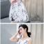 **สินค้าหมด Dress4004 ชุดเดรสทรงสวยลายดอกไม้สีพื้นขาว ซิปข้างใส่ง่าย มีซับในอย่างดีทั้งชุด ผ้าชีฟองเนื้อดีเกรดพรีเมียมมีน้ำหนักทิ้งตัวสวย ผ้าสวยเกินราคา ทรงนี้ใส่ได้บ่อย ชุดเดียวสวยจบ แนะนำเลยจ้า thumbnail 2