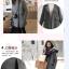 เสื้อโค้ทกันหนาว สีเทา ทรงสวย ใส่ได้หลายแบบ ผ้าดีบุซับในกันลม thumbnail 9
