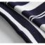 Blouse3679 เสื้อไหมพรมเนื้อนุ่มลายริ้วสลับสีขาว คอปก มีกระดุมคอหลังใส่ง่าย งานถักเนื้อแน่นสวยผ้านุ่มใส่สบายยืดขยายได้เยอะ งานสวยแมทช์ง่าย งานดีใส่สวยใส่สบาย มี 2 สี เหลือง, กรม thumbnail 11