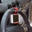 อุปกรณ์ยึดโทรศัพท์มือถือเข้ากับพวงมาลัยรถยนต์ ใช้กับมือถือได้ทุกรุ่นคะ thumbnail 1