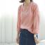 Sweater เสื้อสเวทเตอร์แขนยาว สีชมพู ทรงสวย จะใส่เดี่ยวไหรือใส่โค้ทคลุมก็เริ่ด thumbnail 6